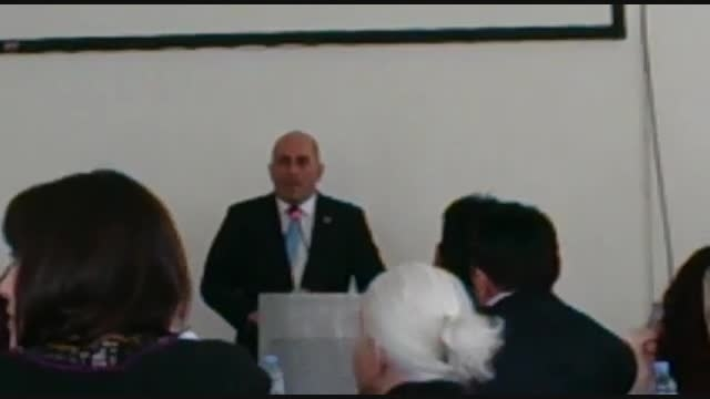 تقدیر توسط وزیر دولتی گرجستان به جهت تلاشهای فرهنگی و ع