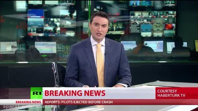 ارتش ترکیه اعلام کرد یک جنگنده متجاوز را سرنگون کرده؟!