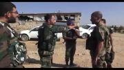 فیلم سربازان ایرانی در سوریه در دفاع از حکومت بشار اسد