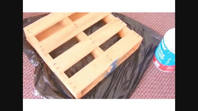 ساخت میز جلو مبلی با پالت های چوبی ارزان