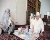 زندگی ایت الله صانعی در کتار همسرش