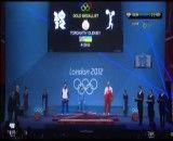 مراسم نقره نصیر شلال وزنه برداری المپیک 2012 لندن بدون سانسور GEM SPORTS
