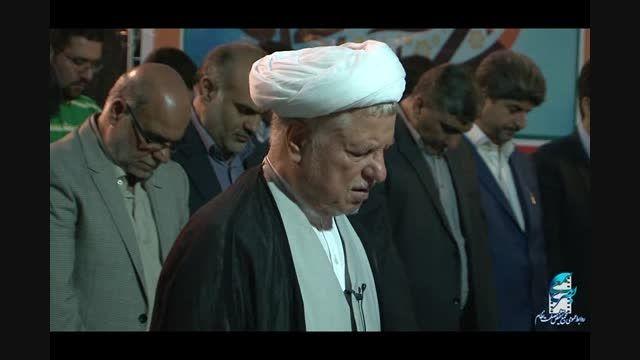 افطاری کارکنان مجمع تشخیص مصلحت نظام با آیت الله هاشمی