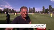 کیروش: انگیزه و روحیه تیمی ایران در آسیا بهترین است