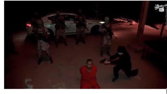 اعدام شبانه 2  اهل سنت ب دست کودک 13 ساله داعشی-سوریه