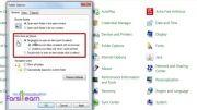 تغییر دوبار کلیک به یکبار کلیک در (windows 7