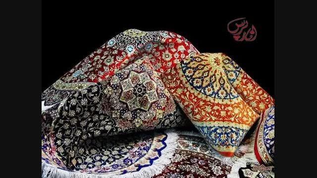 قالی بافی در شهر انار