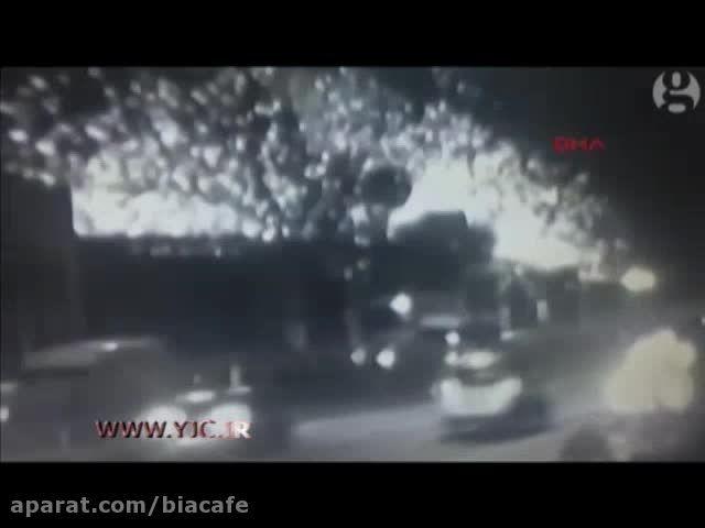 لحظه انفجار بمب در مترو ترکیه + فیلم جدید انفجار