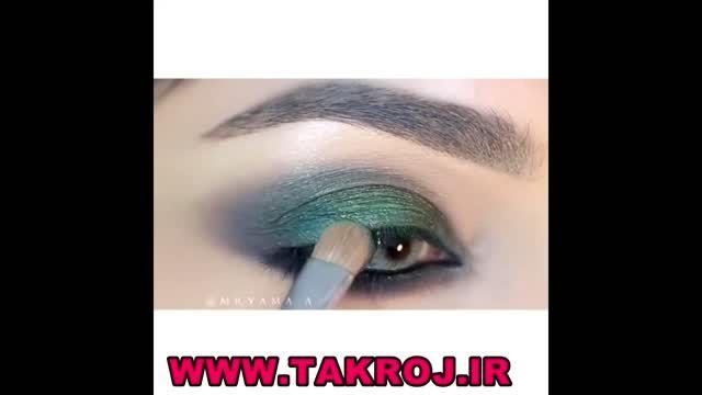 4 مدل زیبا آرایش چشم مجلسی