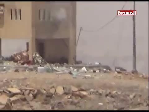 حمله انصارالله به مواضع ارتش عربستان سعودی