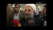 حضور حسن روحانی در ستاد انتخابات کشور