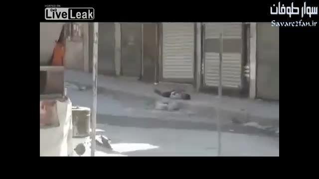 کشته شدن مزدور داعشی به هنگام فرار!