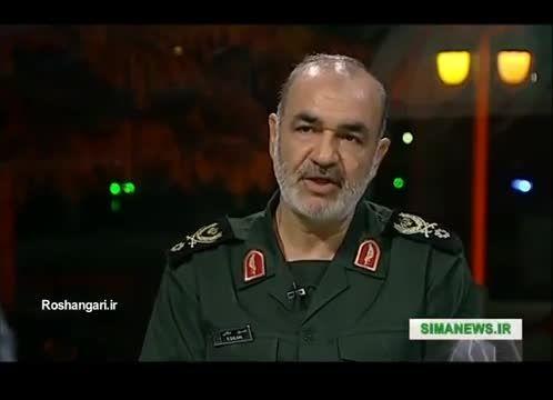 سردارحسین سلامی:ایران از جنگ با آمریکا استقبال میکند...