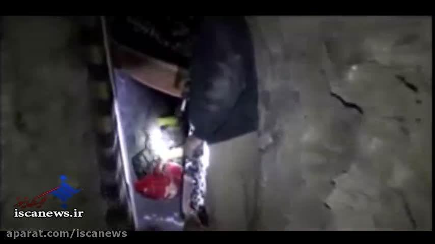 کشف تونل زیر زمینی داعش توسط نیروهای عراق