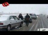 تصادف 22 خوردو در محور قزوین - کرج