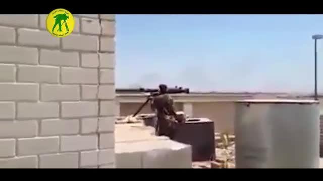 منهدم کردن خودروی انتحاری داعش
