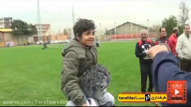 تولد هانی نوروزی در ورزشگاه درفشی فر