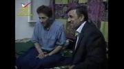 عیادت رئیس جمهور از ابوالفضل پور عرب