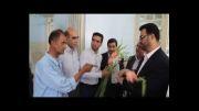 دیدار فرماندار شیراز با جانبازان اعصاب و روان