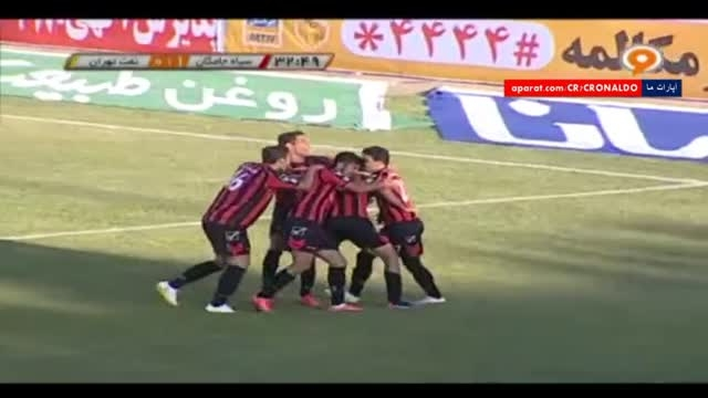 خلاصه بازی : سیاه جامگان 1 - 0 نفت تهران (رفت)