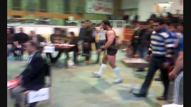 مسابقات تک لیفت استان مرکزی