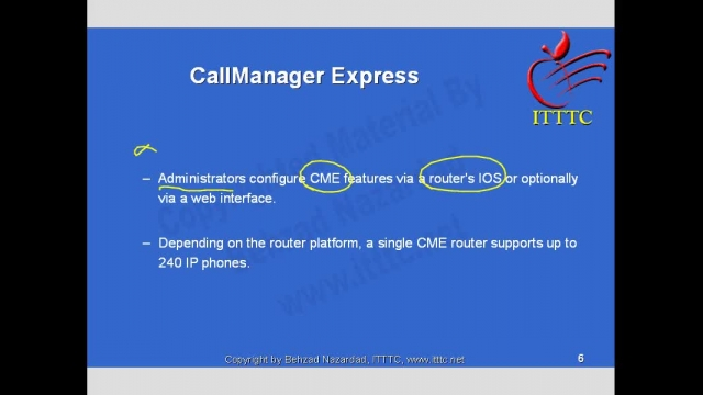 Cisco Call Manager and Unity Express