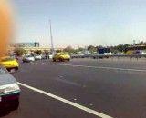 موتور سنگین در اتوبان تهران قم