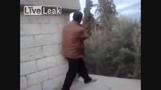 کشته شدن داعش به دست تک تیرانداز  kurd