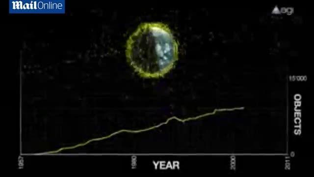 ماهواره ای برای پاکسازی زباله های فضایی