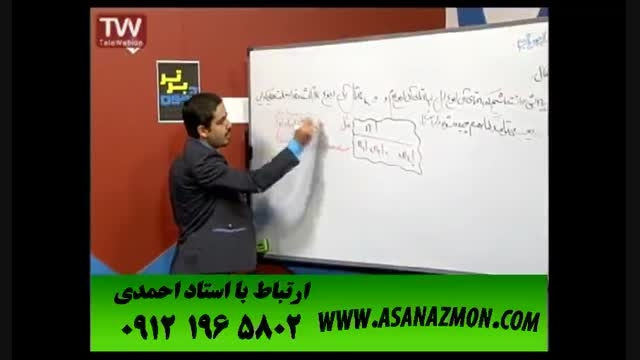 آموزش اصولی و حرفه ای درس ریاضی برای کنکور ۴