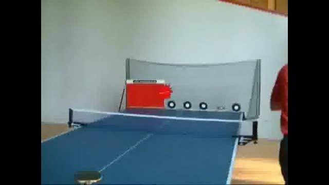 جالب ترین و عجیب ترین آموزش پینگ پنگ (حتما ببینید)