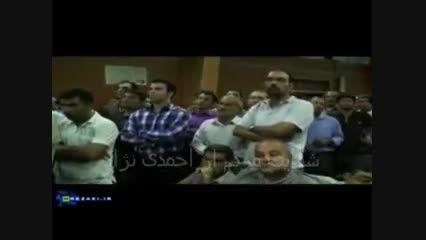 شکایت مردم از دست احمدی نژاد به رضایی