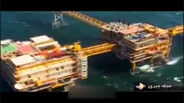 گم شدن دکل نفتی و صحبت مسئولین درباره آن