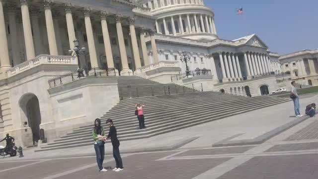 ساختمان کنگره آمریکا در واشنگتن