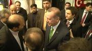استقبال از نخست وزیر ترکیه
