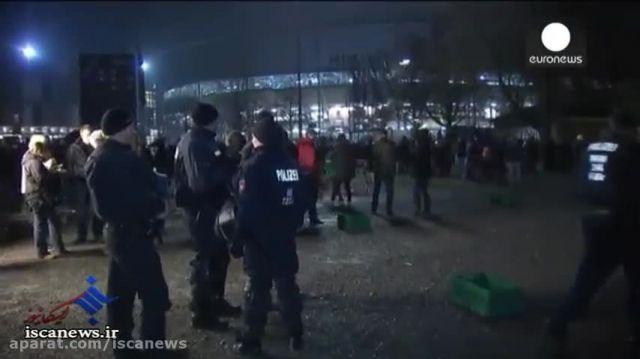 لغو دیدار دوستانه آلمان و هلند به دلیل تهدید بمب
