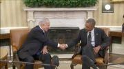 نخستین دیدار اوباما و نتانیاهو پس از جنگ غزه