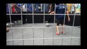 فوتبال خیابانی با حضور ادگار داویدز