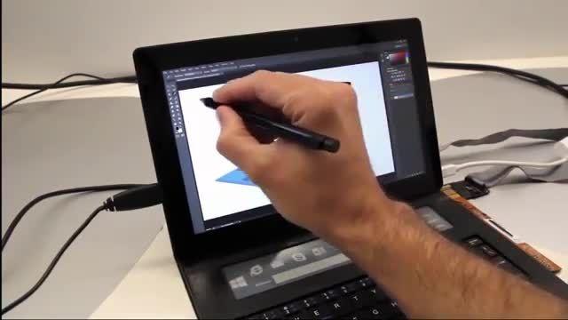 DisplayCover؛ ترکیبی از یک صفحه کلید و یک صفحه لمسی
