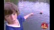دوربین  مخفی خفن  راه رفتن روی آب!!