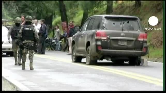 اشتباه  پلیس مکزیک با دیپلمات های آمریکایی