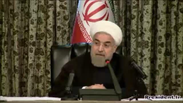 روحانی:به جز یکی دو کشور عنود همه از توافق خوشحال اند