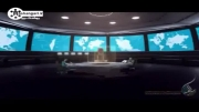 انیمیشن پاسخ ایران به حمله اتمی آمریکا