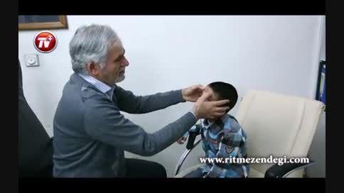 صورت این بچه رایگان جراحی می شود/بزرگترین عیدی امسال