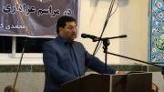 سخنرانی مهدی عبوری شهردار ساری در مسجد چهاردانگیها و اعلام حمایت از محمد حسن محمدی کیادهی
