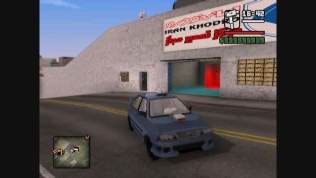 ماشین پراید 141اسپرت ایرانی برای بازی Gta Sa