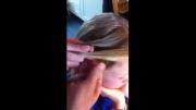 روش زیبا و جالب بافت مو دخترونه