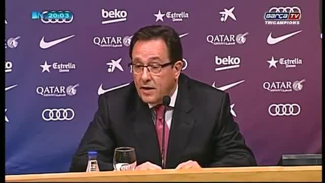سخنرانی مدیران بارسلوناو اعلام زمان انتخابات هیئت مدیره