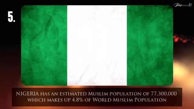 پرجمعیت ترین کشورهای مسلمان با آمار