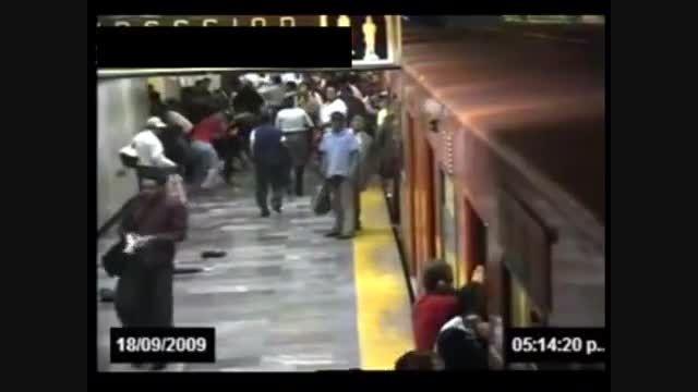 شلیک های مرگبار در مترو
